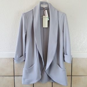 FrenchMauve cuffed open blazer NWT Stitch fix Item